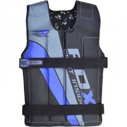 Zátěžová vesta RDX modrá 14kg