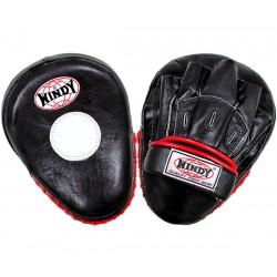lapa Windy pár boxing kůže černá červený lem