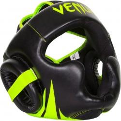 Přilba Venum Challenger 2.0 lícnice brada Unisize černá, žlutá neon
