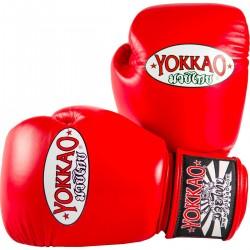 Boxerské_rukavice_Yokkao_Matrix_červená
