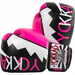 Boxerské_rukavice_Yokkao_Frost_růžová