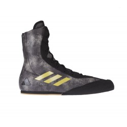 Boxerské boty Adidas Bog Hog Plus černá, zlatá, camo 7,5