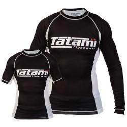 Rashguard Tatami Essentials černá krátký rukáv L