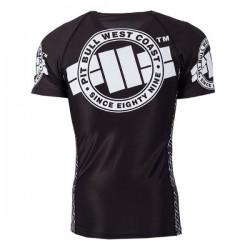 Rashguard Pitbull West Coast Logo L