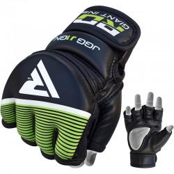 Rukavice MMA RDX dětské černá, zelená