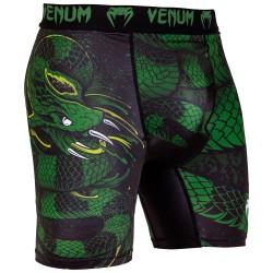 Kompresní_šortky_Venum_Green_Viper_černá,_zelená