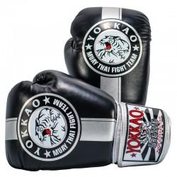 Boxerské_rukavice_Yokkao_Official_Fight_Team_stříbrná,_černá