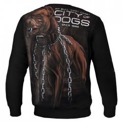 Mikina_Pitbull_West_Coast_City_Of_Dogs_černá