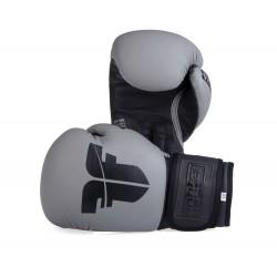 Boxerské rukavice Fighter SIAM šedá 10oz