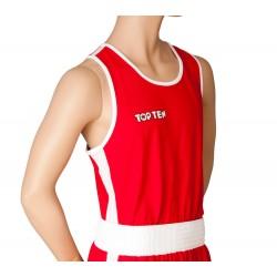 Boxerské tílko Top Ten červená S