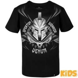Tričko_dětské_Venum_Gladiator_3.0_černá,_bílá