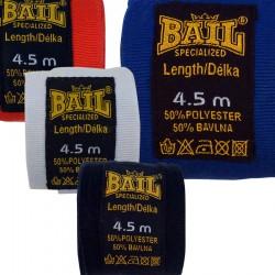 Boxerská bandáž Bail polyester bílá 3,5m