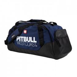 Pitbull_West_Coast_sportovní_taška_TNT_černá_tmavě_modrá