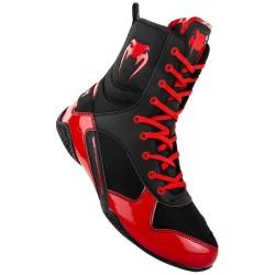 Venum boxerské boty Elite černo, červená 8