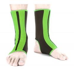 Chránič kotníků Fighter černá, zelená L