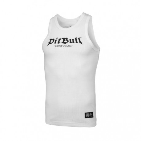Pitbull_West_Coast_pánský_Tank_Top_RIB_Old_Logo_bílý