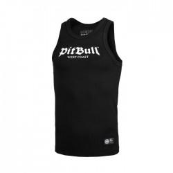 Pitbull West Coast pánský Tank Top RIB Old Logo černý M