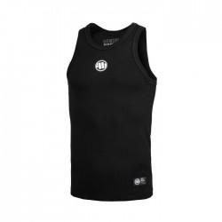 Pitbull_West_Coast_pánský_Tank_Top_RIB_Small_Logo_černý