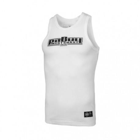 Pitbull_West_Coast_pánský_Tank_Top_RIB_Boxing_bílý