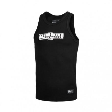 Pitbull_West_Coast_pánský_Tank_Top_RIB_Boxing_černý