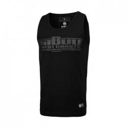Pitbull_West_Coast_pánský_Tank_Top_Slim_Fit_Lycra_Boxing_černý