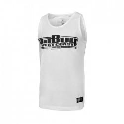 Pitbull_West_Coast_pánský_Tank_Top_Slim_Fit_Lycra_Boxing_bílý