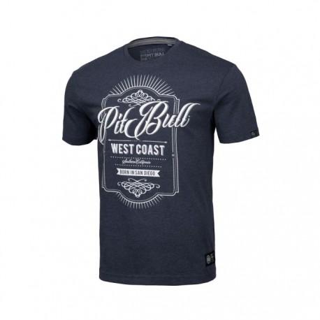 Pitbull West Coast pánské triko Beer tmavě modrý melír M
