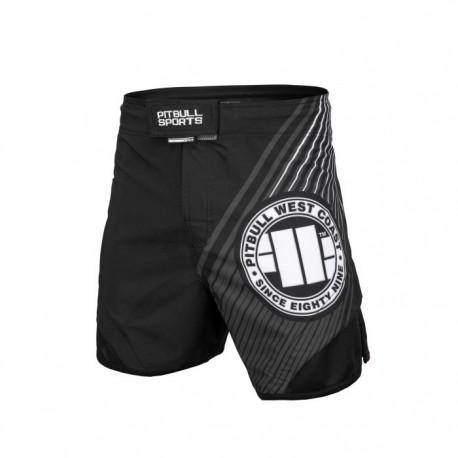 Pitbull_West_Coast_pánské_grappling_shorts_Jet_Player_One_černé