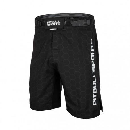 Pitbull_West_Coast_pánské_grappling_shorts_Origin_černé