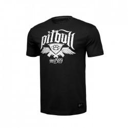 Pitbull_West_Coast_pánské_triko_Oldschool_Knuckles_černé