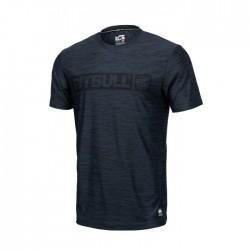 Pitbull West Coast pánské triko Hilltop tmavě modrý melír