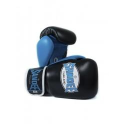 Boxerské_rukavice_Sandee_Neon_Velcro_černá_modrá