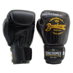 Boxerské_rukavice_Buakaw_Lotus_černé