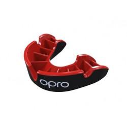 Chrániče_zubů_OPRO_Silver_Level_černá_červená