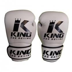 Boxerské rukavice King Pro Boxing bílá