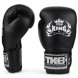 Top_King_kožené_boxerské_rukavice_Super_černá