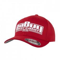 Kšiltovka_Pitbull_West_Coast_Full_Cap_Boxing_červená