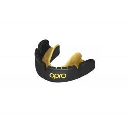 Chrániče zubů na rovnátka OPRO Gold Level černá/zlatá