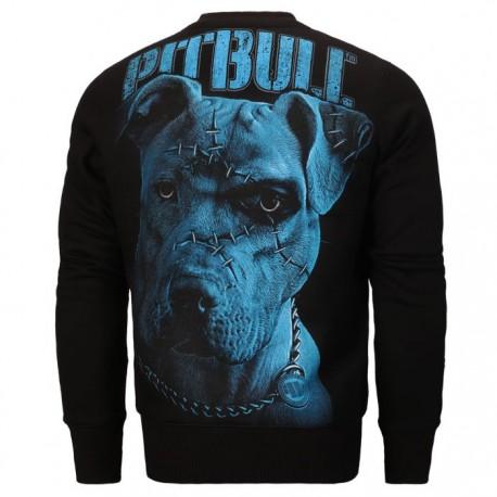 Mikina Pitbull West Coast Blue Eyed Devil IX černá M