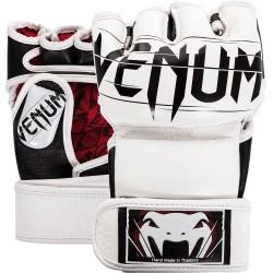 Rukavice MMA Venum Undisputed 2.0 Nappa kůže bílá S
