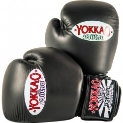 Boxerské_rukavice_Yokkao_Matrix_černá