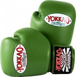 Boxerské_rukavice_Yokkao_Matrix_zelená