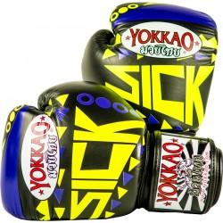 Boxerské_rukavice_Yokkao_Sick_violet,_žlutá