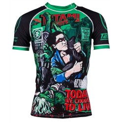 Rashguard Tatami Fightwear The Zombie Hunter M
