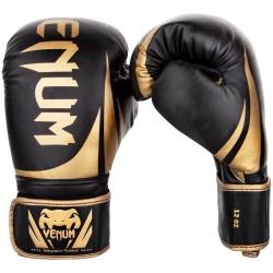 Boxerské rukavice Venum Challenger 2.0 černá, zlatá 10oz