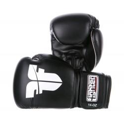 Rukavice FIGHTER BOX / MUAY THAI černá PU 10oz