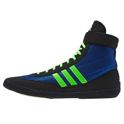 Boty Adidas Combat Speed 4 modrá, zelená neon 7