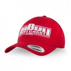 Kšiltovka_Pitbull_West_Coast_Snapback_Classic_Boxing_červená