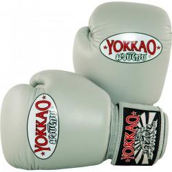 Boxerské_rukavice_Yokkao_Matrix_šedá