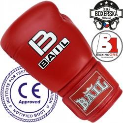 Boxerské_rukavice_Bail_Leopard_červená